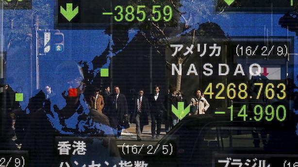 Aktier: Øget handelsspænding giver dukkert til Asien