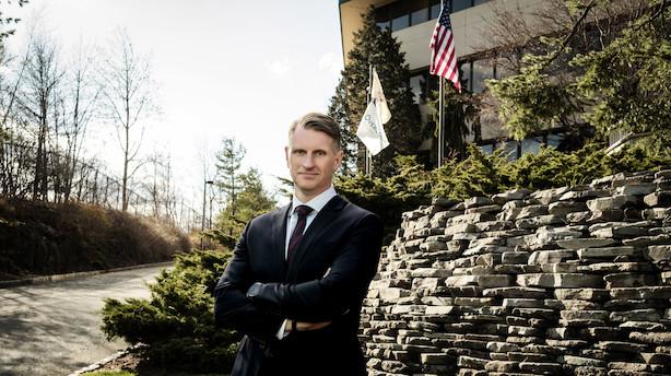 Dansk topchef i USA frygter ikke Ambus engangsvision