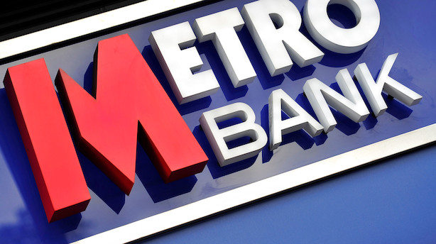 Europæiske aktier: Metro Bank drukner efter missede forventninger