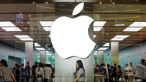 Fald i forsendelser på 20 pct. til Kina: Apple bløder på verdens største mobilmarked
