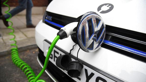 Volkswagen investerer milliarder i batteriaktiviteter
