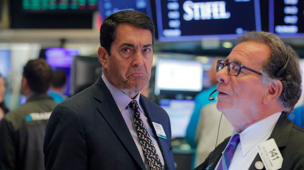 Aktieåbning i USA: Store fald fra start med enkelte regnskabslyspunkter