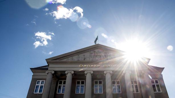 Danske Bank-aktien dykker under kurs 90
