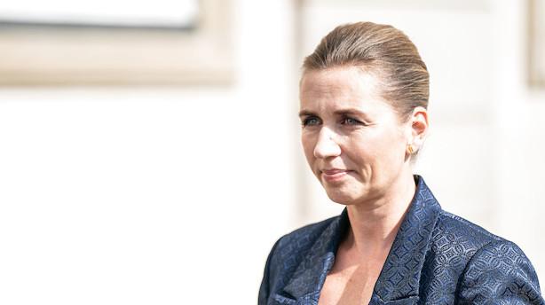 Mette Frederiksen vil ikke indlede en ordkrig med Trump