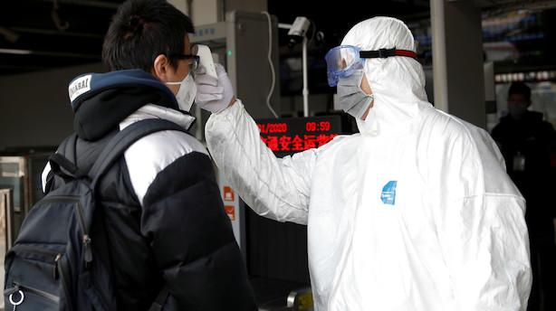 """Chefstrateg om frygt for kinesisk virus: """"Der er derfor også lagt op til fald når de europæiske aktiebørser åbner her til morgen"""""""