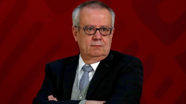 Mexicos finansminister trækker sig - peso under pres