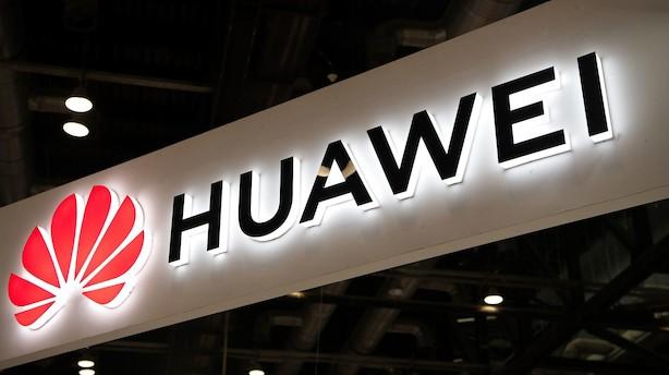 Huawei er stadig verdens nummer to målt på salget af smartphones