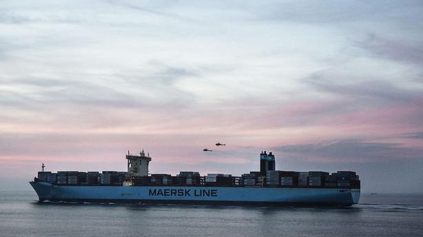 Mærsk: Stort fald i rater på Asien-Nordeuropa