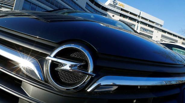 GM og Peugeot værdisætter Opel til 2 mia. dollar