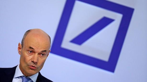Mens du sov: Deutsche Bank vil sælge 687,5 mio nye aktier med 35 pct rabat