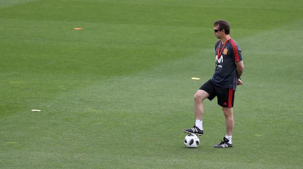 Spanien fyrer landstræneren to dage før VM
