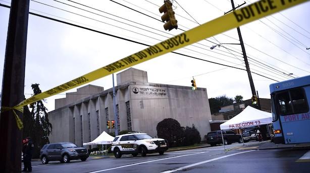 Gerningsmand i Pittsburgh ønskede alle jøder skulle dø