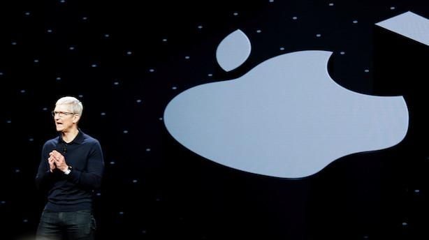 Apple næsten tredobler ejendomme på blot to år