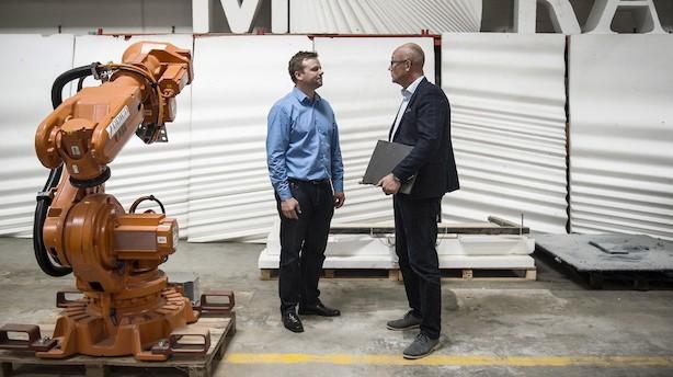 Fynske Odico lander første ordre på sit robotkoncept til byggebranchen: Aktien brager frem
