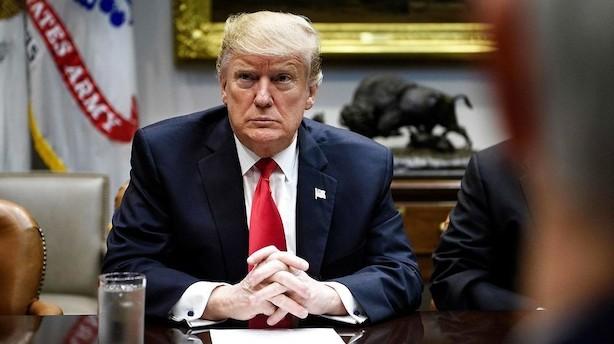 Trump tvivler på grænseaftale og antyder ny nedlukning