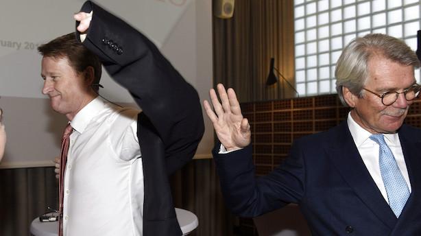"""Legendarisk Nordea-formand: """"Jeg siger ikke det er forfærdeligt at arbejde i en bankbestyrelse. Jeg hentyder bare til det"""""""
