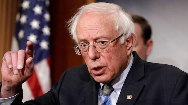 Bernie Sanders vil være præsident i USA