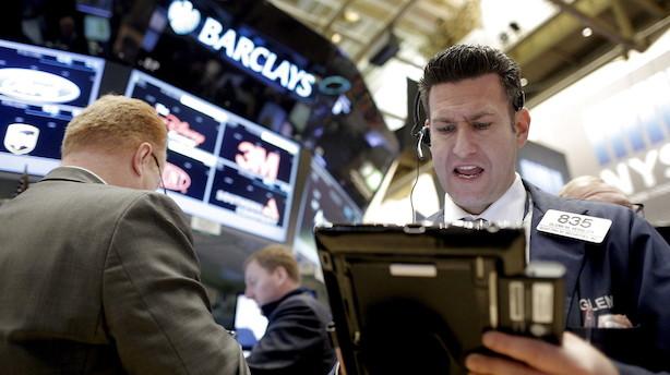 Aktier: Boeing falder på ny og hiver ned i Dow Jones-indekset