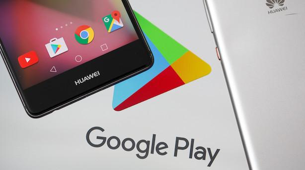 Huawei klar med eget styresystem, hvis USA fastholder forbud
