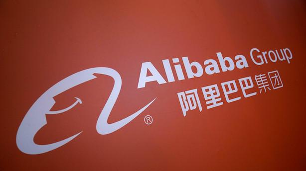 Kinesiske Alibaba går på børsen i Hongkong: Vil sælge aktier for 15 mia dollar
