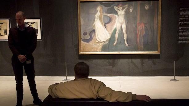 Edvard Munch-maleri får hammerslag på 391 millioner kroner