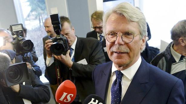 Nordea-formand: Vi rykker sandsynligvis ikke ud af Skandinavien