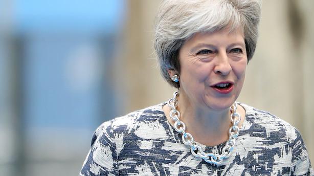 Britisk parlament gør klar til intens brexit-debat