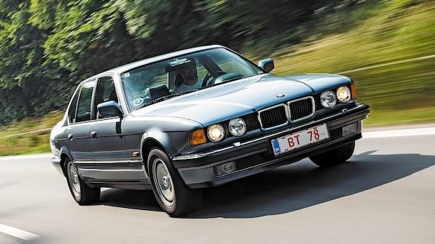 Den 12-cylindrede BMW 750i er for nydere af klassisk musik