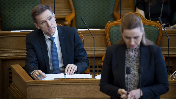 Thulesen Dahl om pension: Mette F. skal være mere konkret