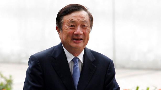 Huawei-stifter med markant udmelding: Klar til at sælge 5G-hardware til Apple