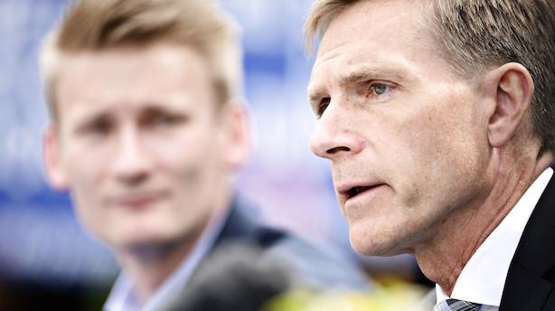 Thulesen Dahl kræver klart løfte fra S: Danmark skal kun gå med i bankunion efter folkeafstemning