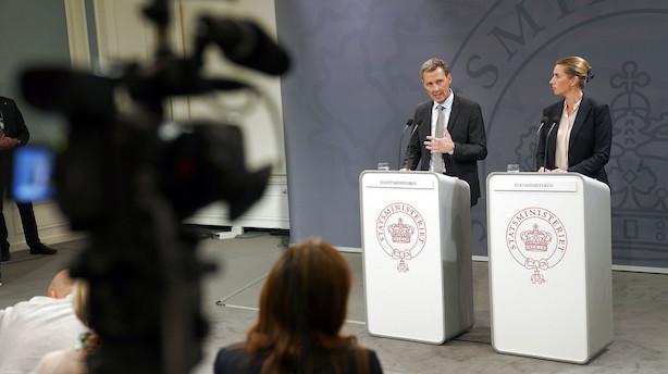 Regeringen vil sikre grænsen til Sverige bedre efter angreb