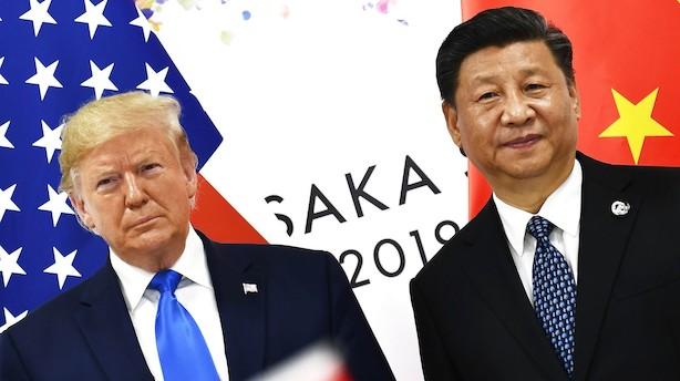 Aktiestatus i USA: Handelsbekymringer og svage økonomital sænker aktier