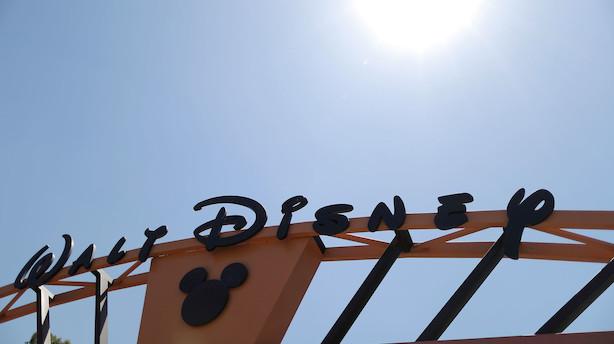 Aktietendens i USA: Disney leverer den gode historie i afdæmpet marked