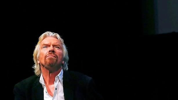 Richard Branson lancerer kampagne for at blive i EU