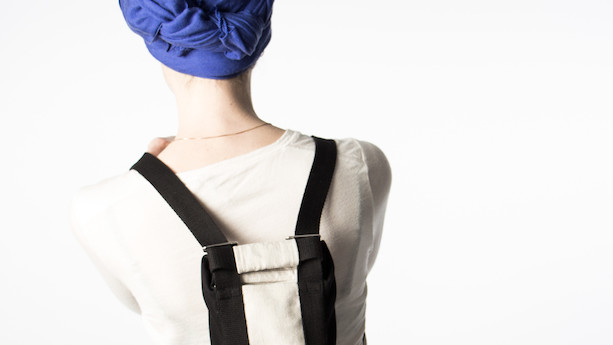 Designstuderende sender patienter hjem fra hospitalet med kemorygsæk