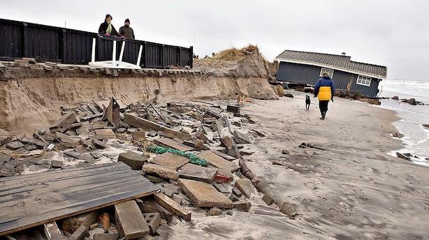 DF vil øge grundejeres adgang til hård kystbeskyttelse