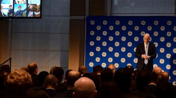 General Electrics topchef reducerer i udbyttebetalingen
