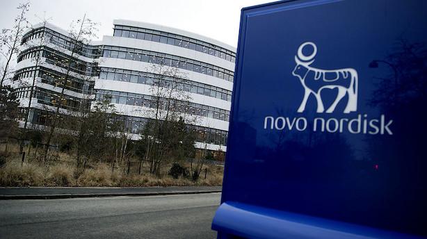 Aktieåbning: Novo Nordisk og DSV trækker C25 i rødt