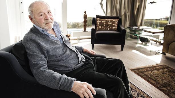 Erhvervssuccessen Nils Foss er død få dage efter sin 90 års fødselsdag