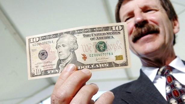 Valuta: Dollar i defensiven mens nye markeder ånder lettet op