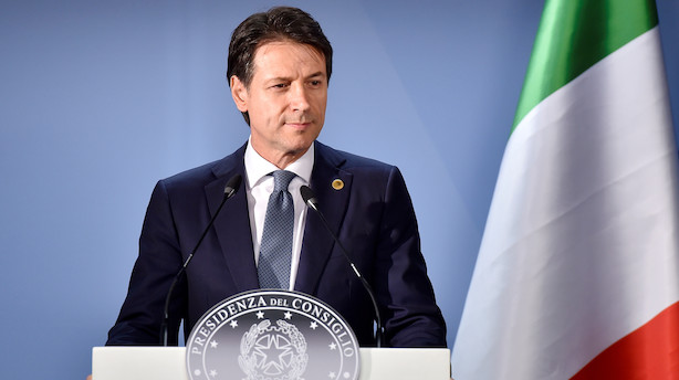 Enighed i Italien mandag aften: Budgetforslag er sendt til EU-Kommissionen