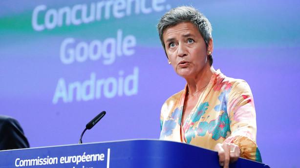 EU-domstol underkender Vestager-bøder for 5,2 mia. kr.