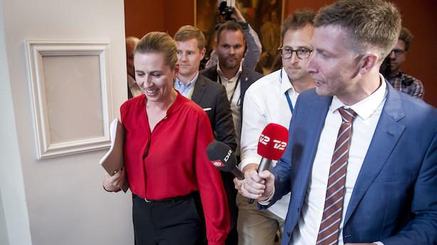 Røde partier enige om ny S-regering