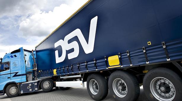 Markedet lukker: DSV blev presset i bund efter Panalpina-tal