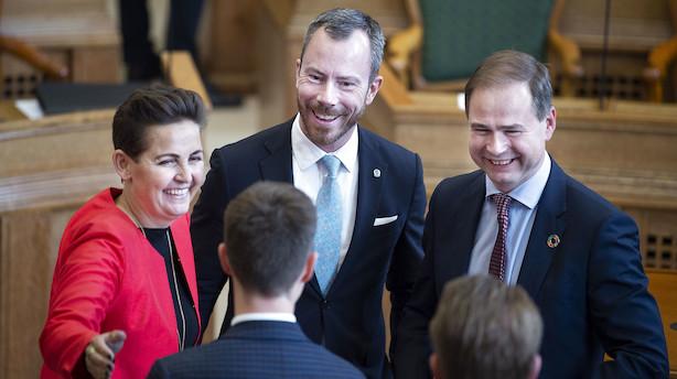 Ellemann slår fast: Venstre støtter 70 procents klimamål