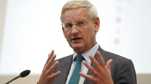 Carl Bildt: UK er færdig som europæisk stormagt