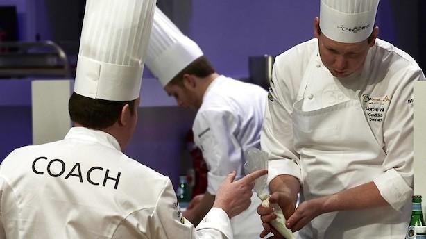 Dansk kok må nøjes med 10.-plads ved uofficielt kokke-VM