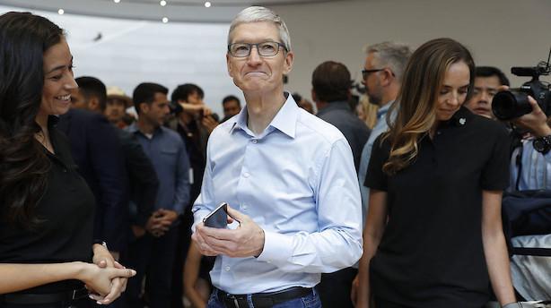 Apples aktionærer kan gå utilfredse fra udbyttefest