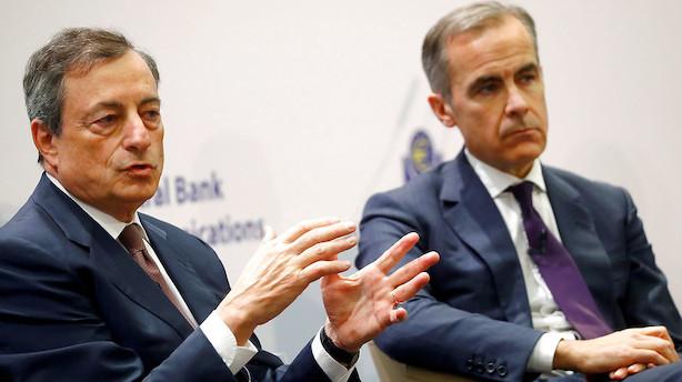 Draghi svinger nu taktstokken over Europas økonomi - opjusterer væksten